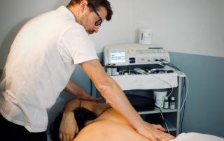 Recupero muscolare: trattamento di mobilizzazione del tratto dorsale