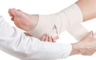 Trattamento di recuepro muscolare con bendaggio funzionale