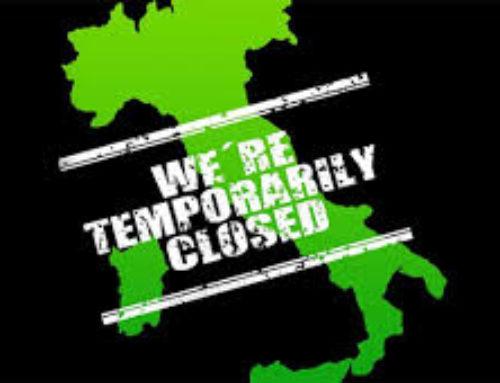 Chiusura temporanea per emergenza COVID-19