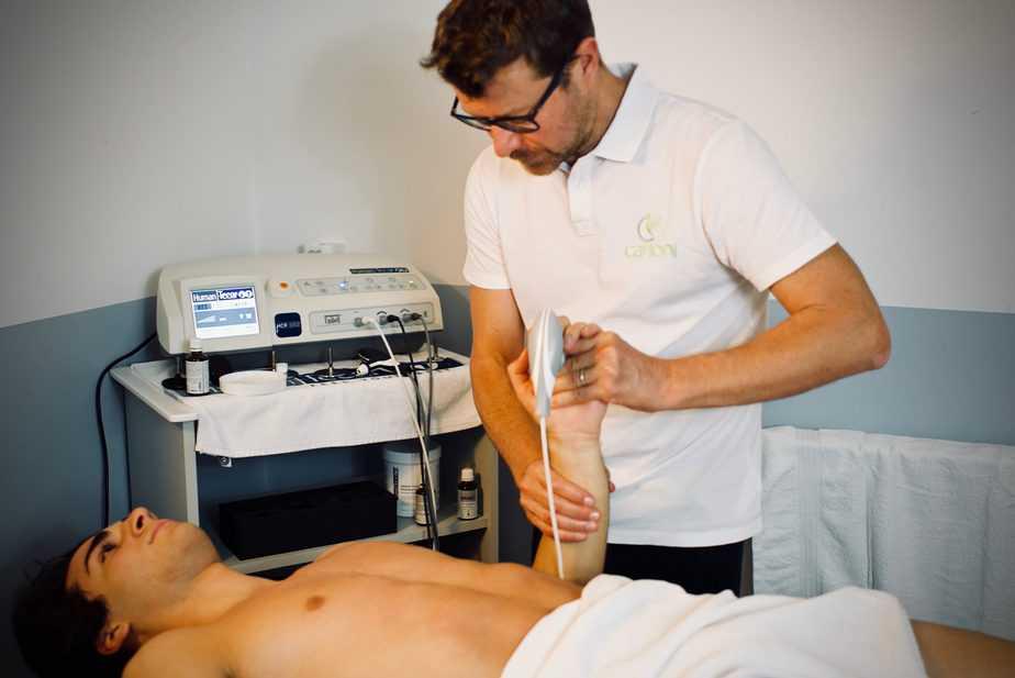 Trattamento del tunne carpale con Tecarterapia Human Tecar