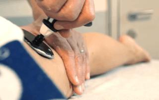 Trattamento di riabilitazione con Tecarterapia Human Tecar