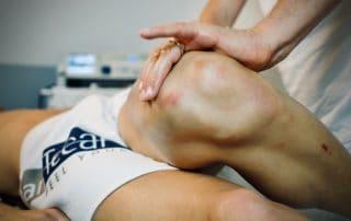 Tratttamento di mobilizzazione degli arti inferiori