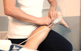 Trattamento con Tecarterapia Human Tecaer per recupero post dsitorsione