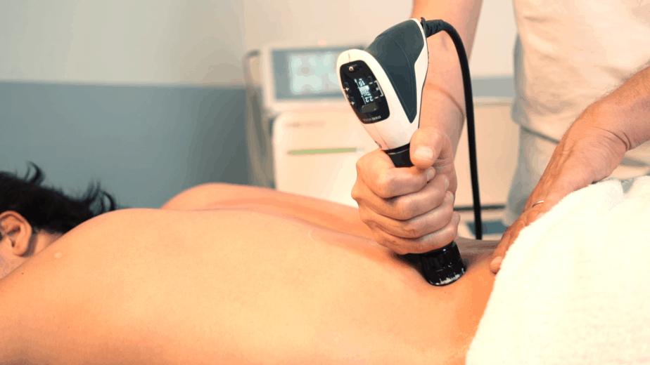 Trattamento del mal di schiena con Onde d'urto radiali
