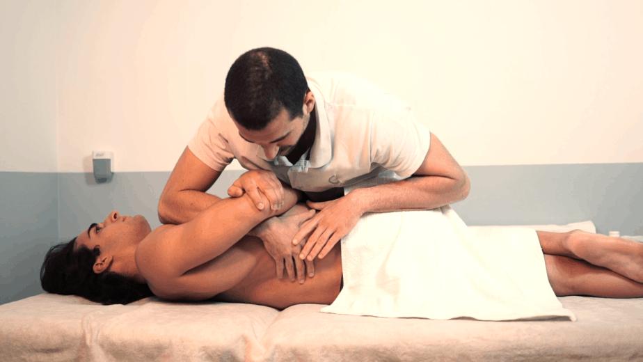 Mobilizzazione cella colonna per trattemento del mal di schiena_ lombalgia