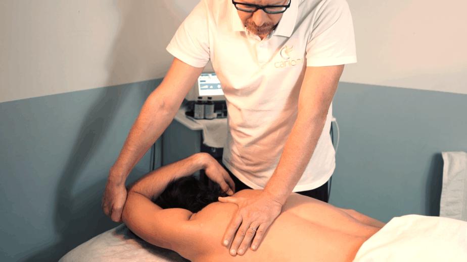 mobilizzazione arti superiorii per cura prevenzione del dolore alla spalla