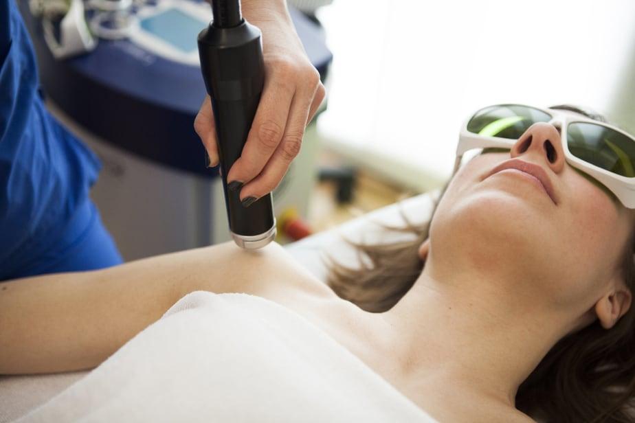 Trattamento di Laerterapia per riduzione del dolore