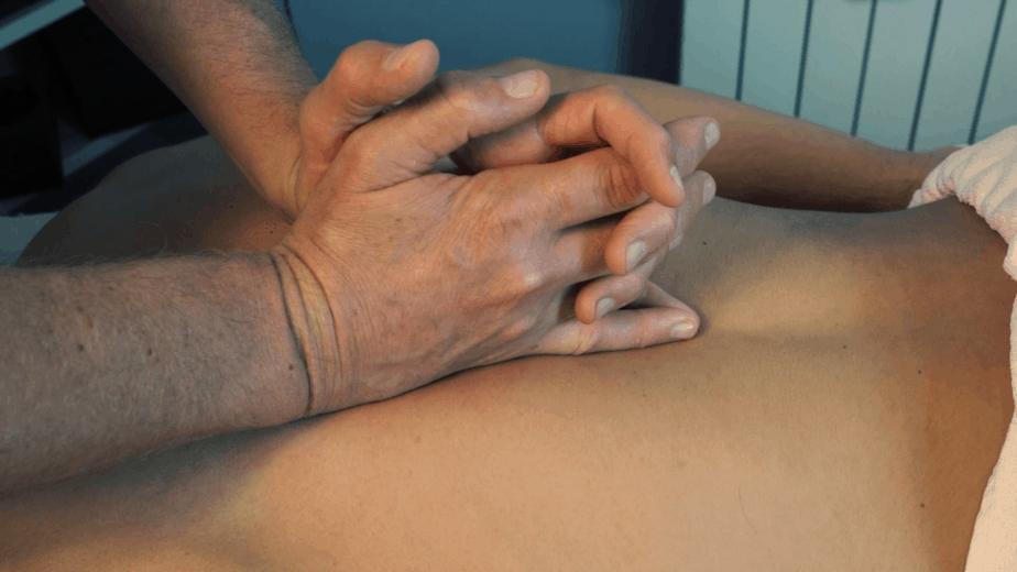 Trattamennto di Massoterapia con asuilio di Tecarterapia Human Tecar